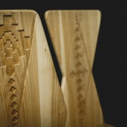 Scaune de lemn