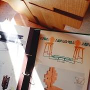 scaun de bar trifoi1