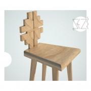scaun de bar trifoi