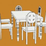 scaune solide